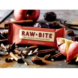 Baton  bio  mar si scortisoara   50 g    Raw  bite