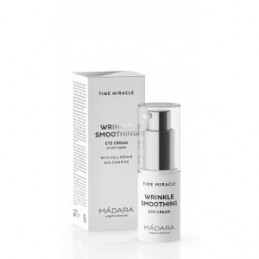 Time Miracle - Cremă de ochi antirid WRINKLE SMOOTHING (15ml) MADARA